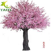 大型仿真桃花树