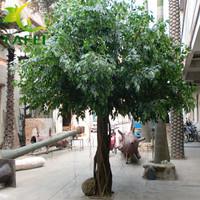 仿真榕树制作