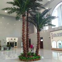 商场室内仿真棕榈树